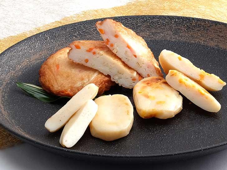 岩倉のかまぼこ11枚・チーズかまぼこ10枚・あげかまぼこ5枚