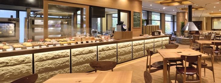 定山渓万世閣ホテルミリオーネのパン屋