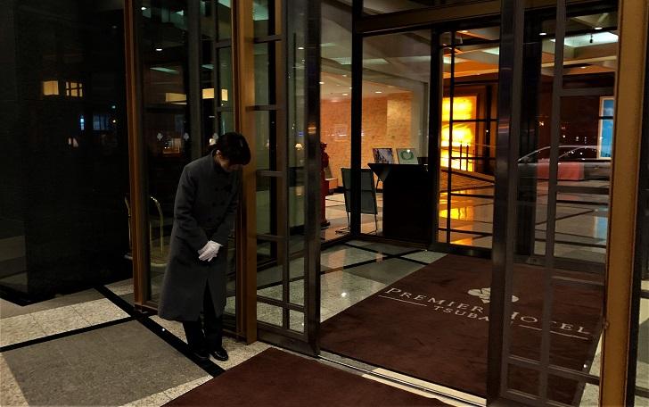 プレミアホテル-TSUBAKIエントランスの写真