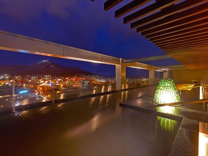 センチュリーマリーナ函館15階温泉