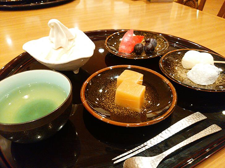 【朝陽亭】早紅葉(夕食)/和のデザート