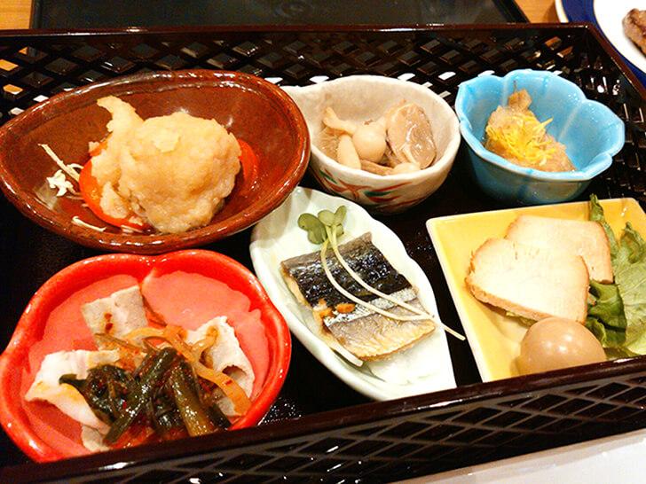 【朝陽亭】早紅葉(夕食)/前菜