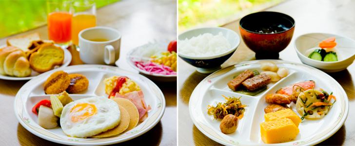 朝食の一例。写真は公式HPより