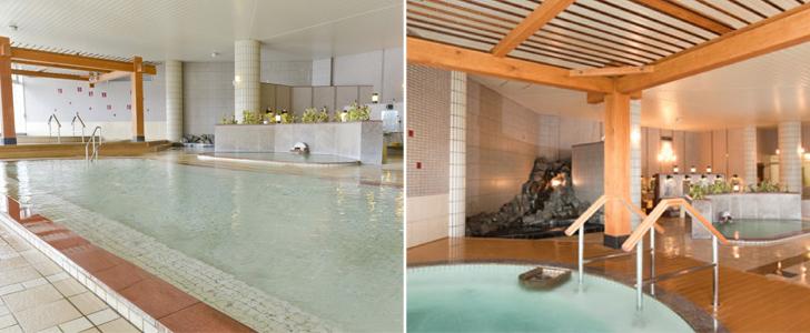 内湯はジャグジーや打たせ湯など、浴槽の種類も豊富。写真は公式HPより