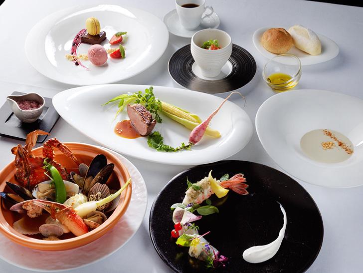 函館大沼 鶴雅リゾート エプイの夕食