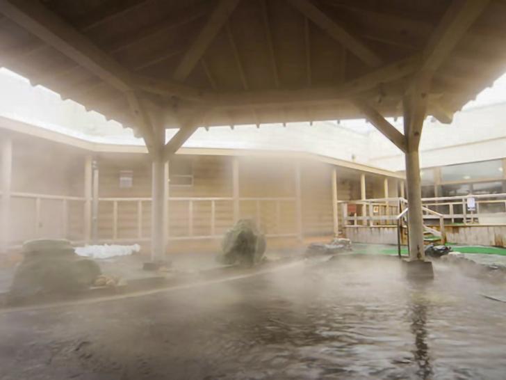 シャトレーゼガトーキングダムサッポロの露天風呂