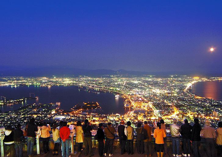 函館山展望台からの夜景