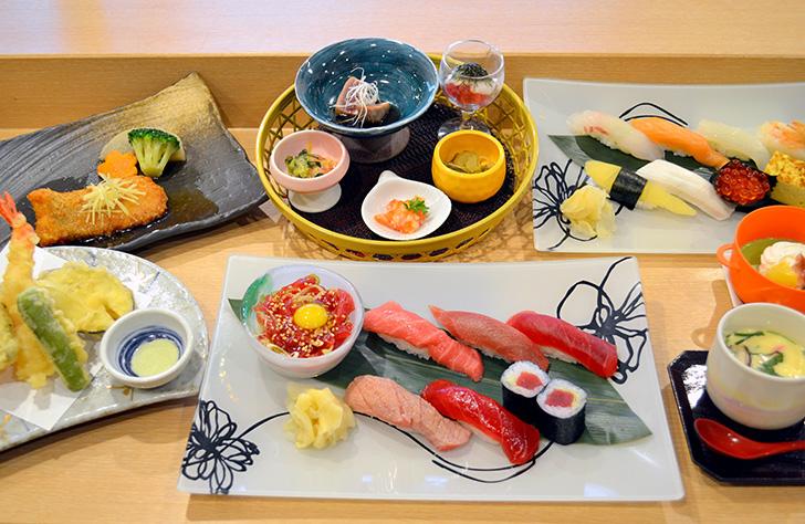 笑函館屋の寿司コース