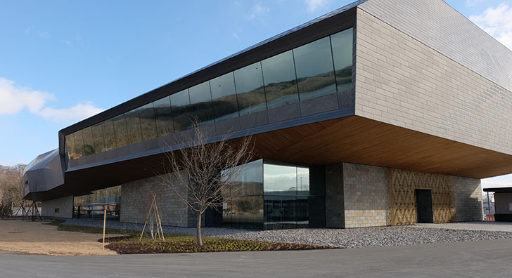 国立アイヌ民族博物館の外観 ※提供(公財)アイヌ民族文化財団