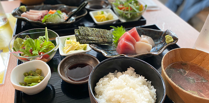 福禄寿の刺身定食3
