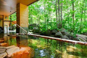 朝陽リゾートの露天風呂