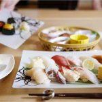 笑 函館屋の握り寿司