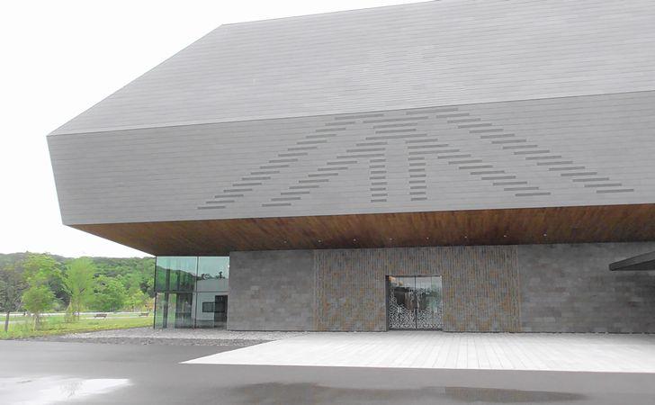 「国立アイヌ民族博物館」外観