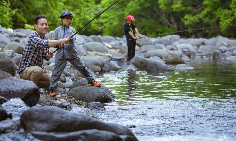 ソラニワ渓流釣り
