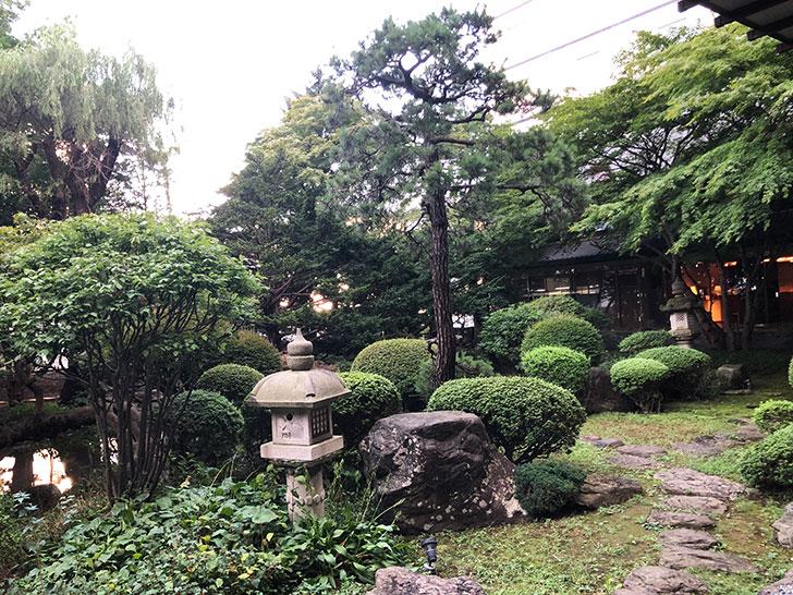 啄木亭 松岡庭園