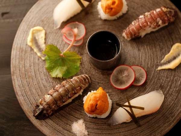 厨翠山(様々な食材が一つの皿の上で向き合い、四季を奏でる(写真はある日のお料理一例)