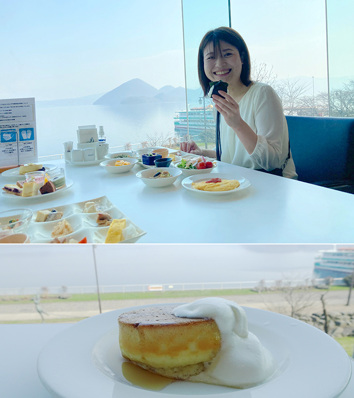 乃の風の朝食