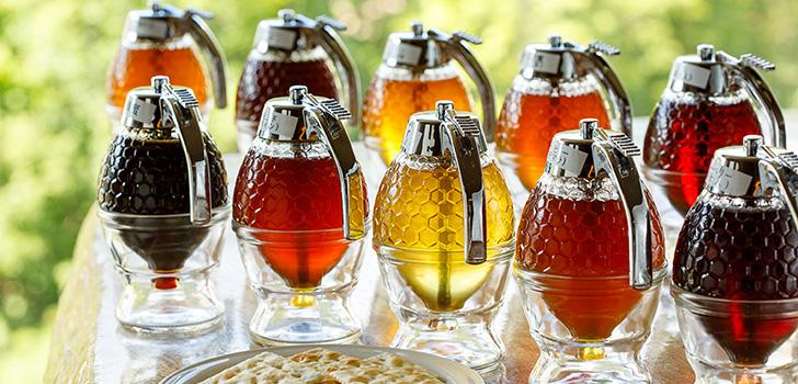 蜂蜜バイキング