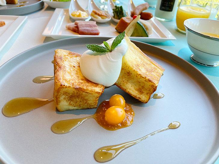 星野リゾートトマムのフレンチトースト