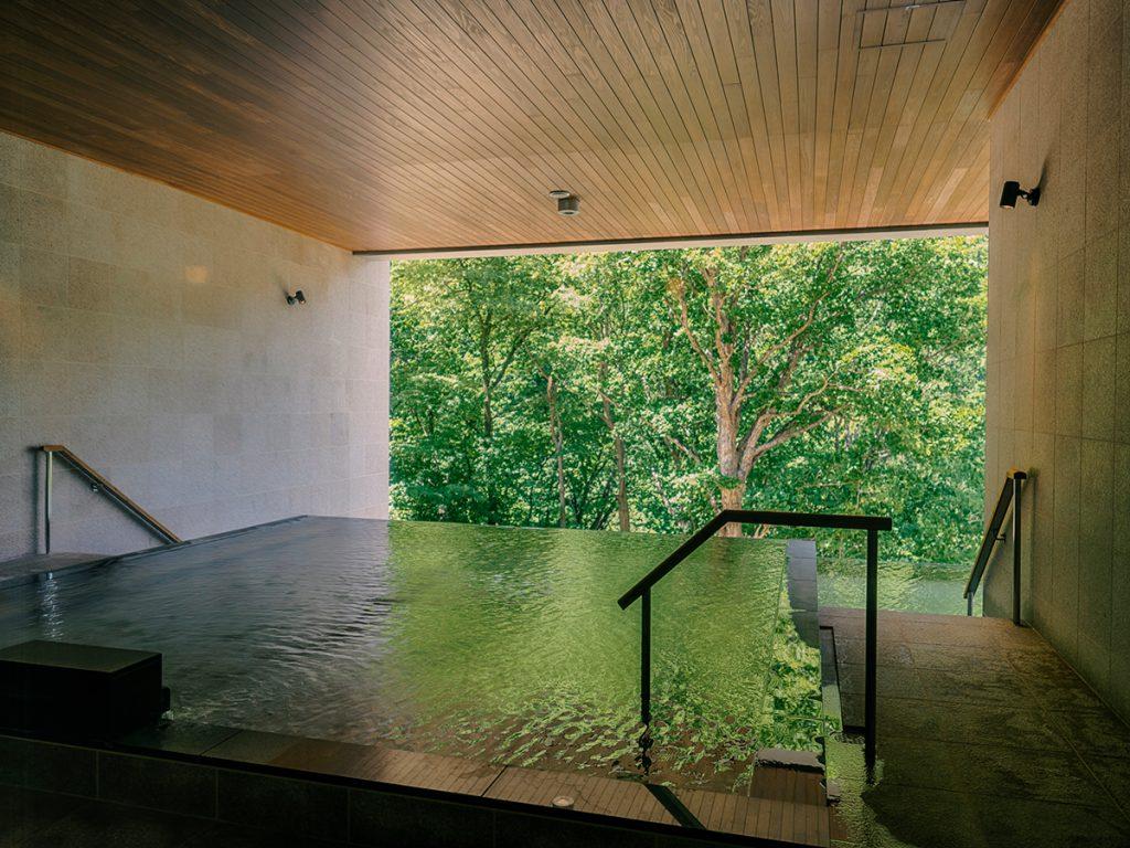 グランドブリッセンホテル定山渓の大浴場