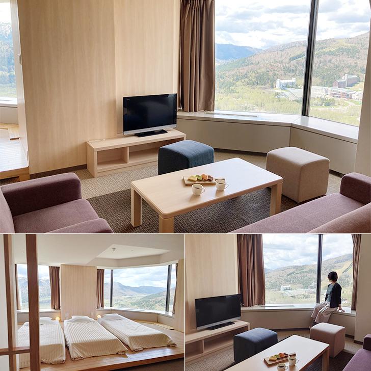 星野リゾートトマムのザ・タワー客室