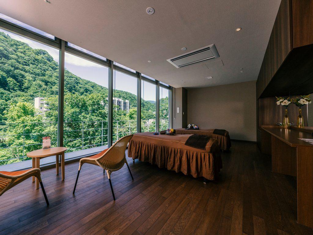 グランドブリッセンホテル定山渓のエステルーム