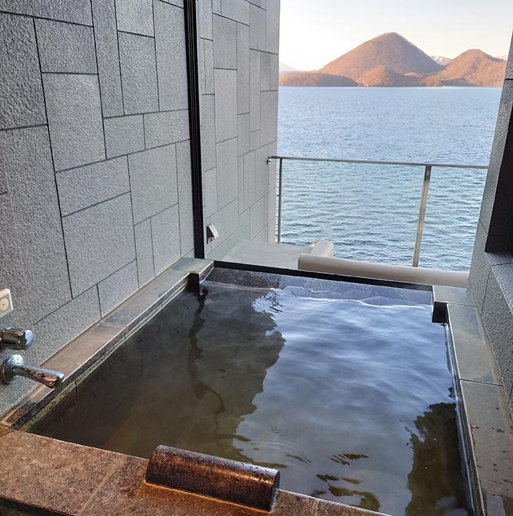 湖の栖客室風呂