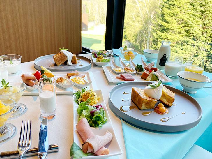 星野リゾートトマムの朝食