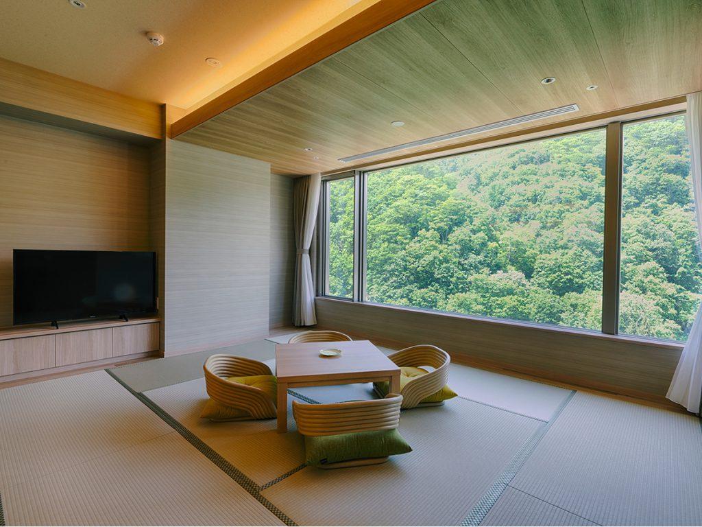 グランドブリッセンホテル定山渓の客室