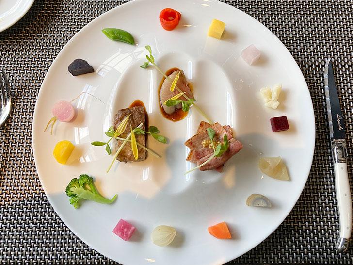 クロスホテル札幌の選べるメイン料理