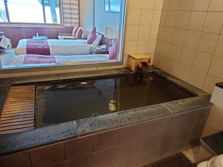 翠明閣客室風呂