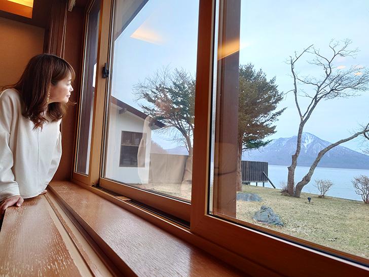 翠明閣客室からの眺め