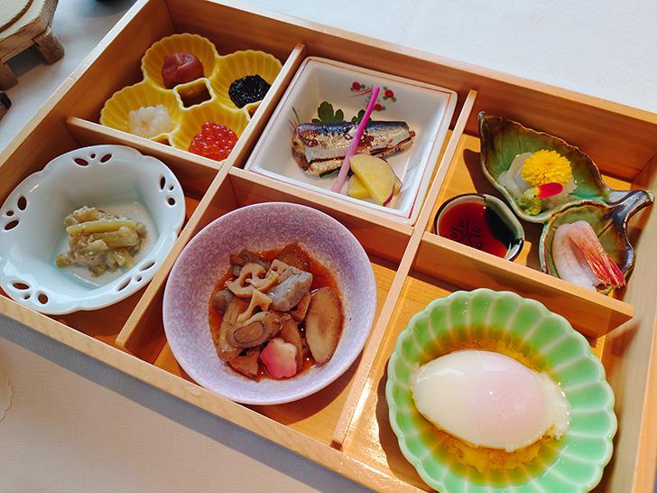 翠明閣朝食 和食