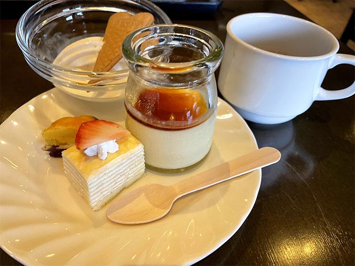 ラビスタ函館 朝食スイーツ